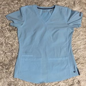 Med Couture Energy Women's Racerback Scrub top